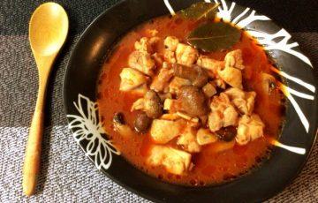 輝くエキス。極柔鶏ももコンソメの炊飯トマトビール煮(糖質7.6g)