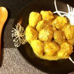 飲料並の柔らかさ。ささみ生姜の濃厚味噌カレー豆乳団子(糖質9.3g)