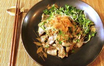 凄く美味いパテ系。濃厚レバー生姜のぽん酢豆板醤(糖質5.0g)