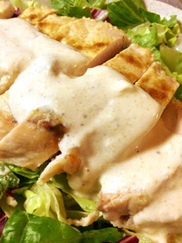 ヨーグル大蒜クミンの芳醇鶏胸ステーキ