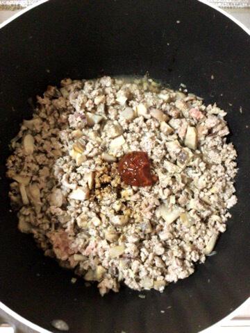 茗荷山椒の肉味噌黄身豆腐