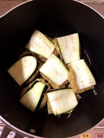 カレーぽん酢の絶品肉汁茄子ささみ餃子