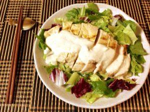 タルタル上位版。ヨーグル大蒜クミンの芳醇鶏胸ステーキ(糖質4.5g)