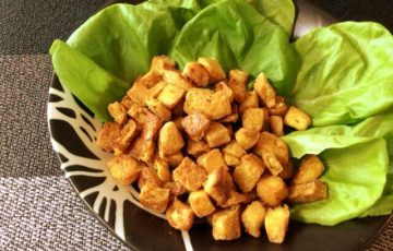 かりふわ最高。おつまみ王者ガーリッククミン豆腐クリスピー(糖質2.6g)