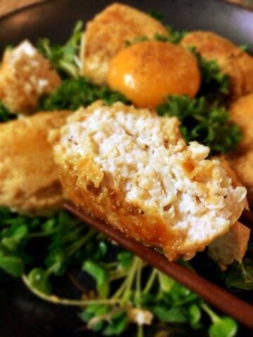 絶品照り焼き山椒チーズ鶏つくね