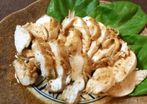 瞬殺サラダチキン。最高に美味しい柔らか鶏むね柚子胡椒バター(糖質1.3g)