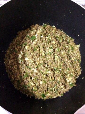 絶品ソイエッグの柚子胡椒キーマカレー