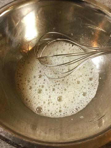 音速1分!ツンツンメレンゲの大変簡単な作り方