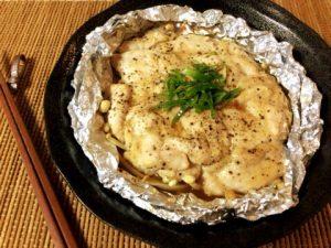 黒胡椒ソースの甘ピリマヨ蜂蜜チキン