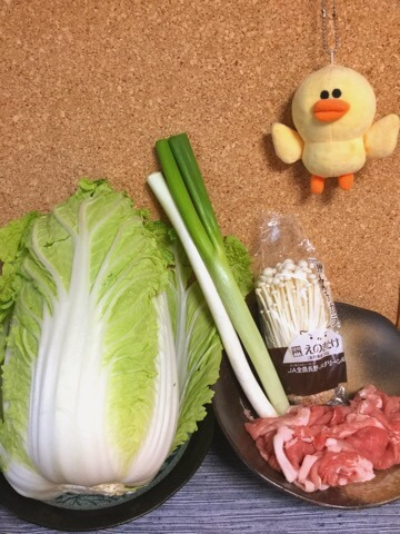 鶏ガラえのきネギ塩の絶品トロトロ鍋