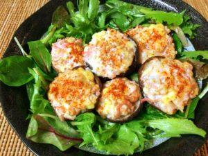 極刺激系。海老紅しょうがの一味チーズオーブン焼き(糖質1.9g)