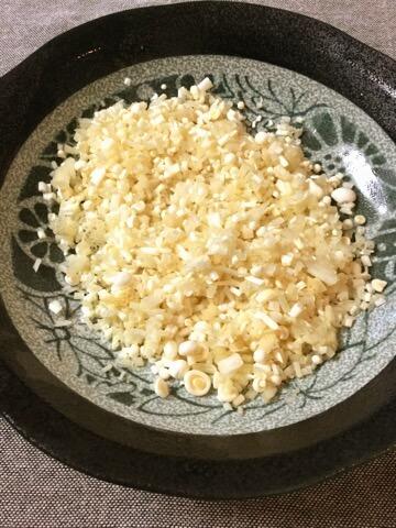 マヨ醤油豆板醤の一口納豆エノキバーグ