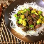 アボ肝やるよね。アボカド砂肝の濃厚ガーリックバルサミコ炒め(糖質3.4g)