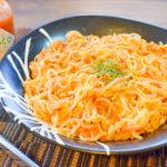 進化系白滝麺。芳醇ツナトマトの豆板醤ペスカトーレ風(糖質5.3g)