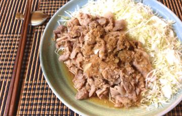 (完)キャベツ無限系。野菜激旨の柔豚こま山椒オイスター煮(糖質5.6g)