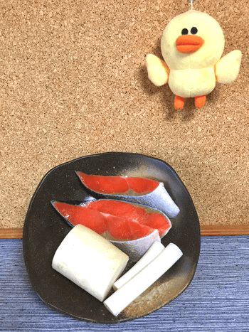 おろしゴマ柚子胡椒の極フワネギ鮭団子