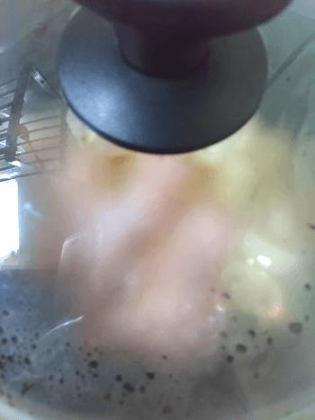 濃厚手羽元カレーどさっぱり煮