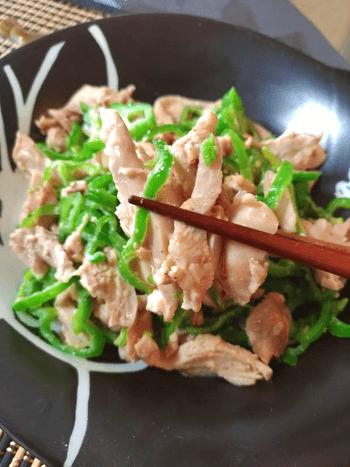 野菜も激うま胡麻マヨ無限棒棒鶏