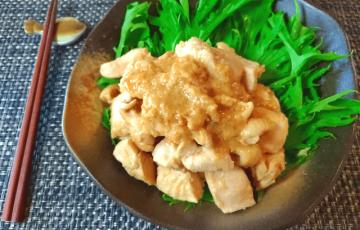 惚れる漬け込み。蜂蜜生姜ヨーグルトの極シャキ味噌チキン(糖質7.9g)