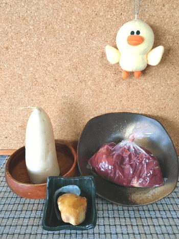 ふわりおろし生姜焼き鶏レバー串