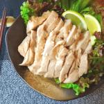 いざホロホロ村。炊飯器で簡単な和風蜂蜜塩麴チキンコンフィ(糖質5.4g)