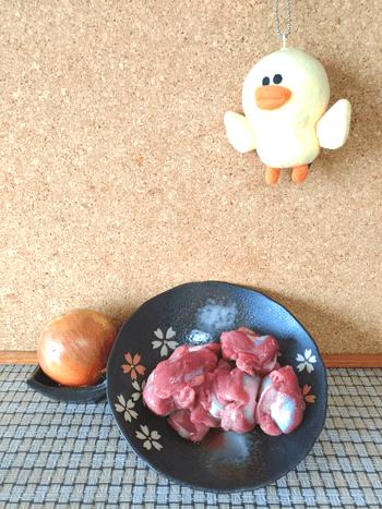 柔らか砂肝オニオンサラダ
