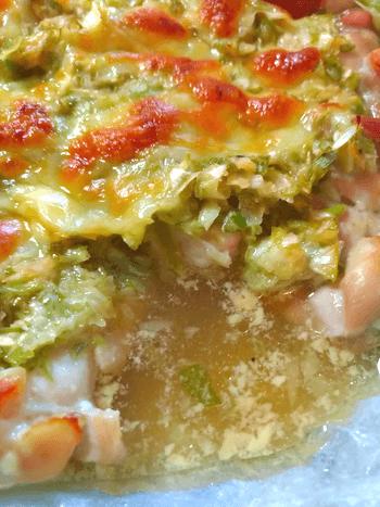 まるごと味噌葱チーズマヨチキン焼き