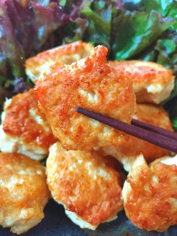 辛子梅マヨネーズ柔らか鶏エノキナゲット