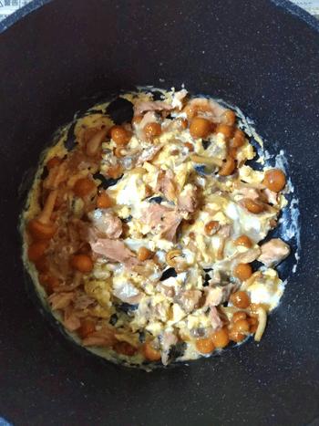 爆速朝ご飯なら3分美味しい鯖エッグ