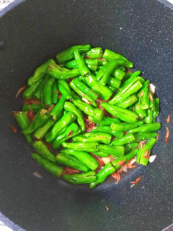 蜂蜜海老ガーリックの山椒ししとう常備菜