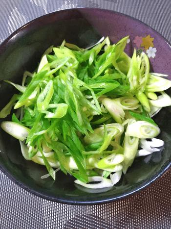 〆に最高なトロ葱極上トリプル出汁海苔スープ