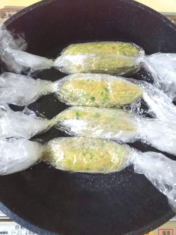 芳醇オーロラカレーの鶏ピーマンソーセージ