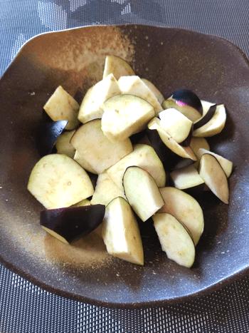 トロトロ美味ナス味噌バター煮込みホルモン