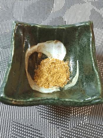 香味満載。山椒塩でいただく大葉一口海老チーズバーグ(糖質4.3g)