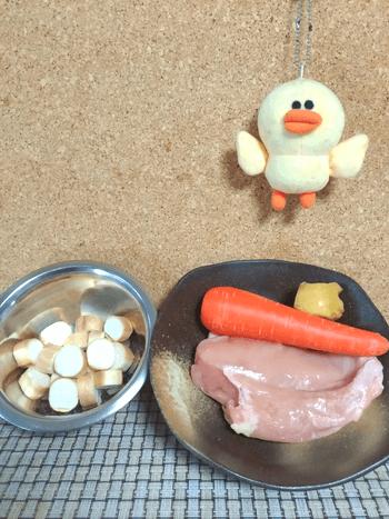 ウスターバター生姜の絶品人参お麩バー