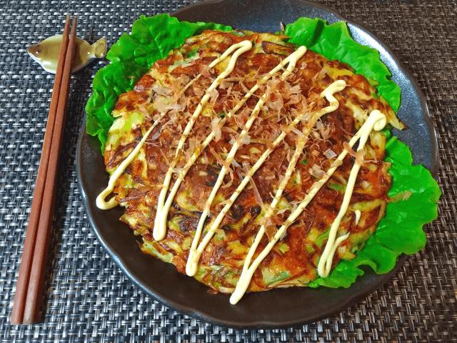 脳内水戸天国。コク旨納豆チーズの絶品丸ごと葱お焼(糖質8.3g)
