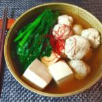 減量に最高。トリプル旨味の鶏ガラ醤油出汁ちゃんこ(糖質8.8g)
