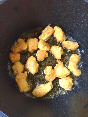青のり塩山椒の柔らかチーズチキンフリッター