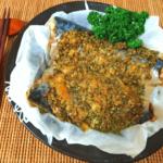 鯖ワールド激変。バターガーリックのエスカルゴ風鯖オーブン(糖質2.9g)