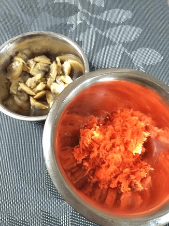 ほんのり甘旨。バター生姜のアサリ飯風人参常備菜(糖質4.8g)