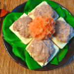 とろり湯豆腐感。優しく旨いおろし明太ポン酢の満足肉豆腐(糖質6.2g)
