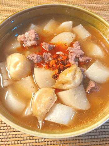全身ホッカイロ。大根炊飯牛のインドネシア風バクテー(糖質9.8g)