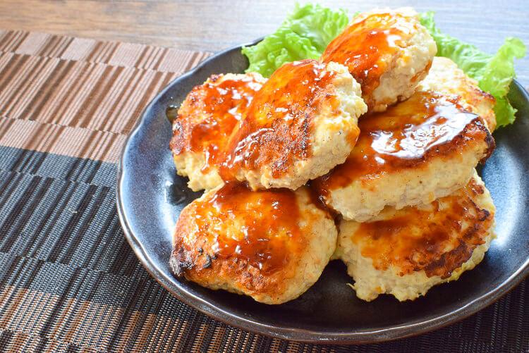 目指せ最短!一撃7個つくおきスイチリチーズ豆腐バーグ(糖質4.7g)