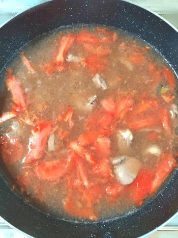 レバー大克服。鶏出汁沁みるトマトクミンの絶品レバースープ(糖質6.2g)