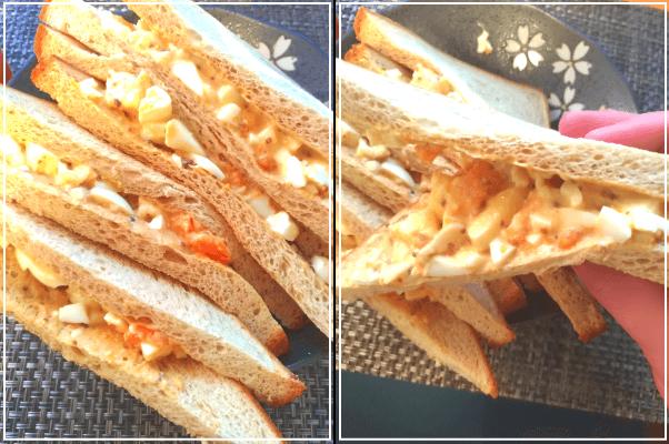 ソイドルのふすまパンの卵サンド