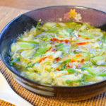 激盛り2本。〆に最高トロ葱極上トリプル出汁海苔スープ(糖質7.7g)