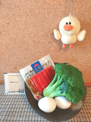 超ジューシー。カニカマブロッコの味噌マヨレンチンオムレツ(糖質4.1g)