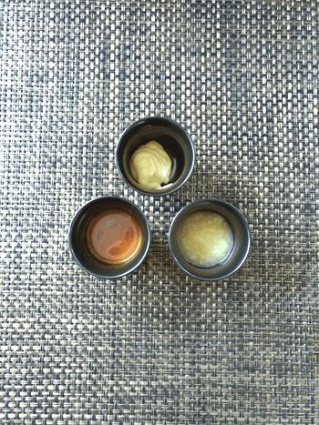 悩殺水戸味。ガーリック味噌納豆のコク旨大葉チキン(糖質6.2)