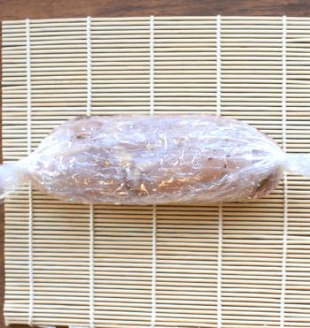 低温柔らか。二段階で溢れるしっとりバジルチーズ鶏ハム(糖質3.7g)