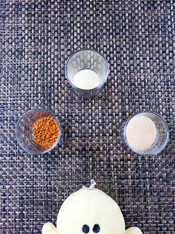 濃苦最高タッグ。混ぜて冷やすだけ豆乳アボカド珈琲ムース(糖質2.9g)